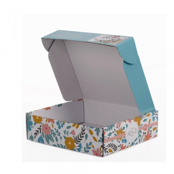 Custom printed corrugated baby goods packaging box