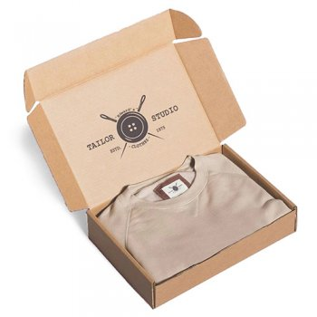 Shipping Boxes Brown Paper Packaging Shirt Storage Boxes