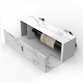 Custom Fold-able Packaging Wine Bottle Accessories Box