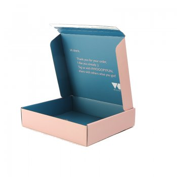 Paper Corrugated Boxes Packaging for Dress and T-shirt Packaging