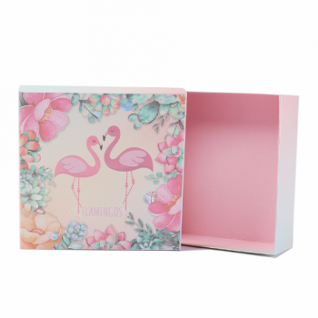 Customized logo design printing  Cosmetic packaging gift box