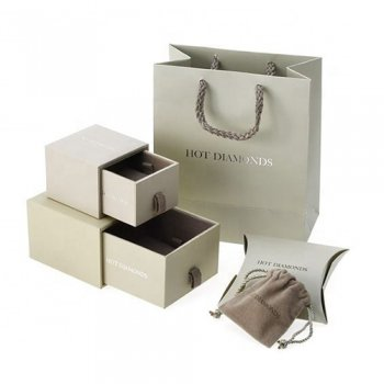Custom Jewelry Pendant Bracelet Sliding Gift Packaging Box