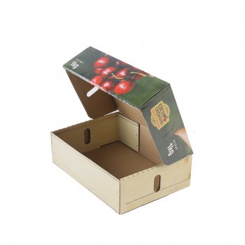 OEM Fruid color Corrugated Cardboard  Paper Boxes