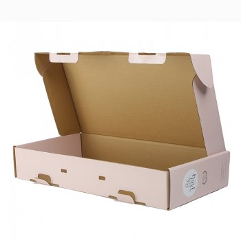Custom Recyclable colored clothing packaging mailer boxes corrugated box