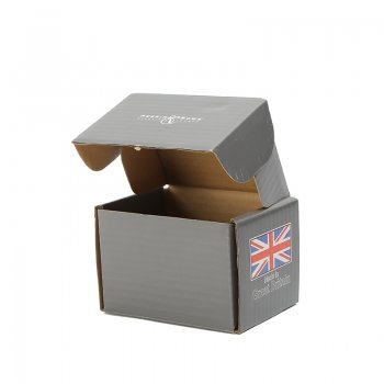 OEM colored corrugated paper gift packaging folding cardboard shoes box